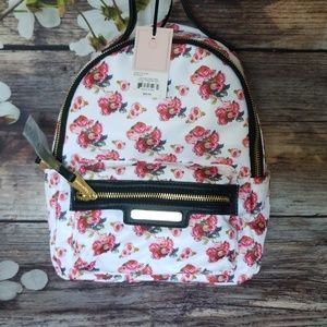 NWT Juicy Couture Varsity Blooms Mini Backpack